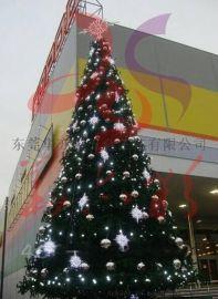 12米高聖誕樹,戶外大聖誕樹安裝,大型聖誕樹廠家