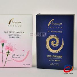 广州厂家供应化妆品包装韩国富户品包装盒定制 白卡纸 金卡纸