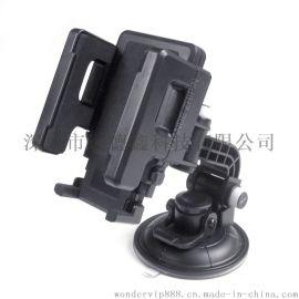 FLY S2113W-F多功能车载手机架 汽车手机导航支架车用手机支架