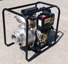 4寸柴油机自吸泵不用插电