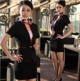 上海廠家生產訂做職業女裝V領氣質職業套裙夏季短袖沈V領西服