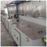 蒸汽加熱噴淋清洗烘幹線,通過式噴淋清洗烘幹線