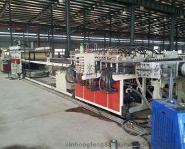 PVC木塑宽幅门板生产线