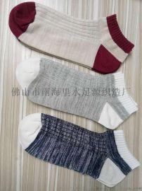 2017新款男袜热卖 广东厂家纯棉船袜 短袜男 袜子纯棉短筒