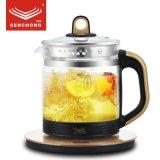 申川養生壺全自動加厚玻璃煮茶器養身花茶壺多功能煎藥煮茶壺