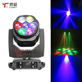 广州羿彩灯光新款7颗15W蜂眼LED电脑摇头灯 酒吧KTV婚庆舞台灯光厂家直销