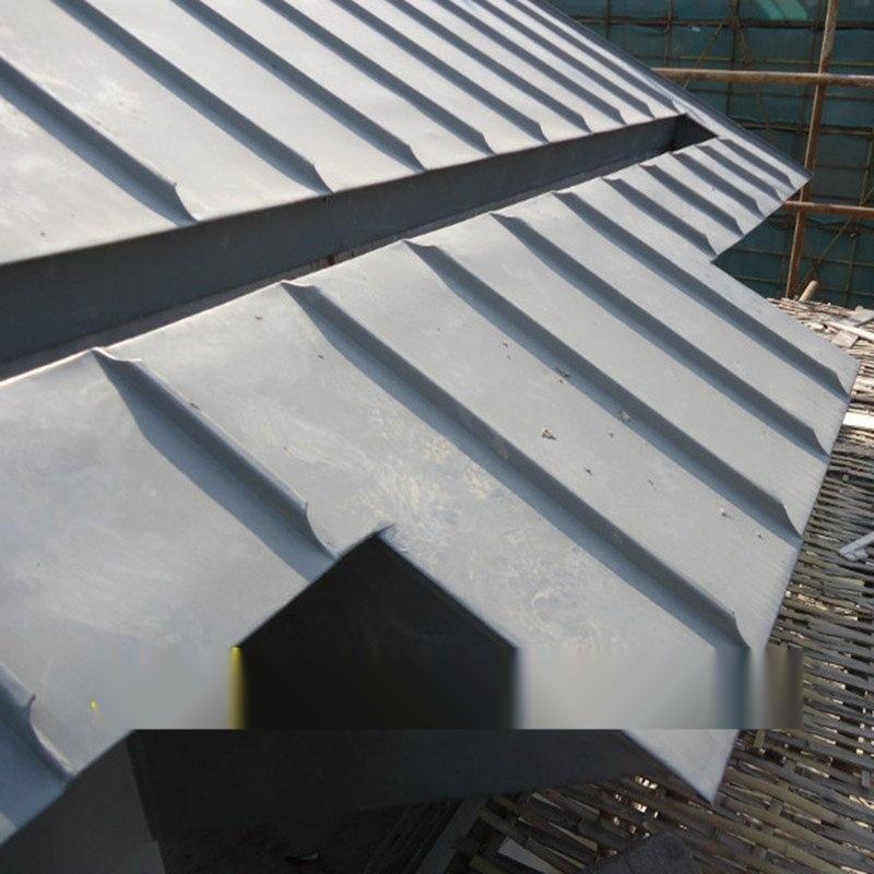 鈦鋅合金板 菱形預製板 平鎖釦系統 矩形板 方形板