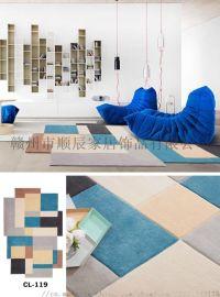 厂家直销手工定制地毯,腈纶地毯,羊毛毯,满铺毯