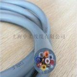 上海中柔厂家直销TRVV伺服电机专用拖链电缆耐油耐弯曲耐磨耐高低