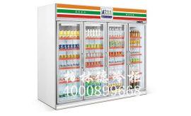 超市便利店冰水的四门柜子/四门冷柜