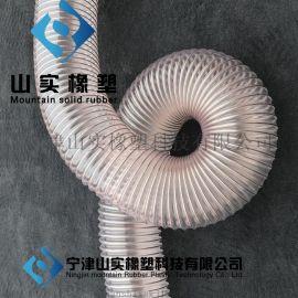 大口径通风除尘风管, 大口径聚氨酯风管,大口径PVC吸尘风管,大口径pu钢丝软管