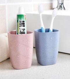 创意杯子环保漱口杯货源批发 工厂批发价格 厂家新款小麦秸秆洗漱杯水杯牙刷杯