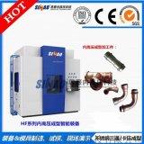 內高壓設備|不鏽鋼三通卡壓水漲機|領先水脹機液壓機生產廠家