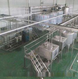 椰汁饮料全自动灌装机(9月新型)整套椰子饮料生产线设备 饮料机械