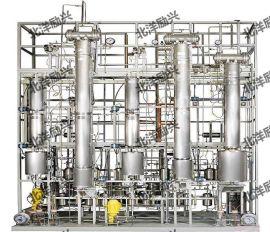 山东泰安临沂莱阳不锈钢精馏、不锈钢精馏塔、实验室不锈钢精馏塔、实验室精馏塔、实验室精馏装置