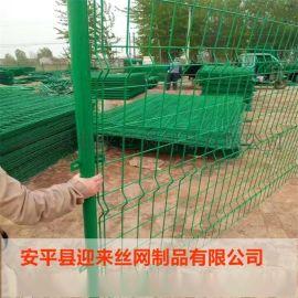 三角折弯护栏网,护栏网门,护栏立柱