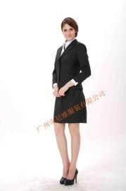 高檔次時尚女西服職業套裝 團體量身定做