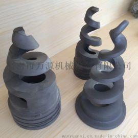 碳化硅脱硫除尘螺旋喷嘴,PP不锈钢螺旋喷嘴