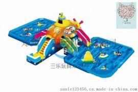 南陽水上樂園戶外移動支架遊泳池充氣水池