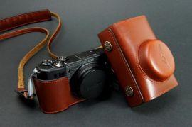 真皮相机背带 - 1