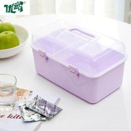 化妆品药盒长方形多功能收纳箱