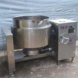 电磁加热卤煮锅 横轴手摇倾斜不锈钢单层蒸煮锅