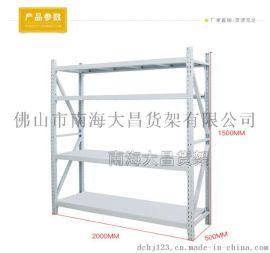 佛山货架厂家 轻型展示组装金属货架 仓储置物架