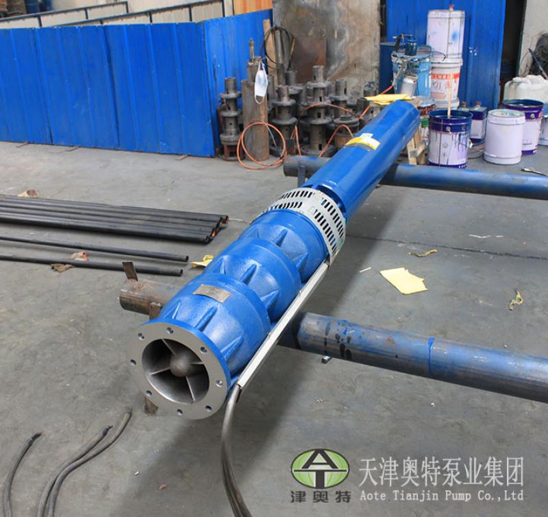 津奥特地下热水抽取QJR热水潜水泵\6寸出水口径电机外径281|360毫米井用热水泵直销