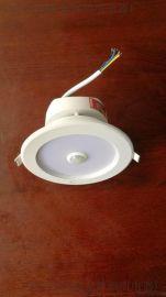 厂家专业生产消防应急照明带人体感应筒灯