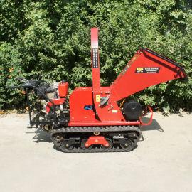 全地形履带果园树枝树叶修剪粉碎劈木机