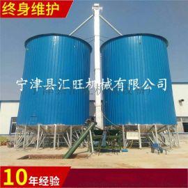 养鸡场用200吨玉米钢板仓粮食储罐小麦仓质优价廉