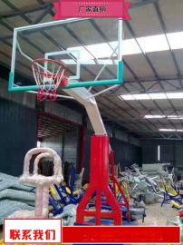 移动籃球架安装商 体育场籃球架多少钱
