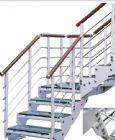 谊升YS-2不锈钢玻璃整体楼梯(家用型)