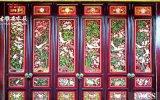 邛崍寺廟實木雕花門窗定製設計廠家