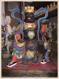 玻璃鋼神像雕塑廠家,文財神武財神趙公明神像定做