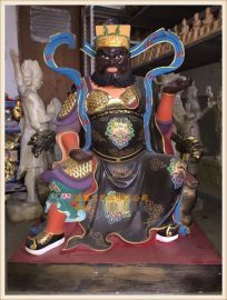 玻璃钢神像雕塑厂家,文财神武财神赵公明神像定做