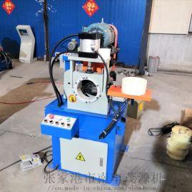 张家港厂家DEF80 气动圆管圆棒半自动单头倒角机