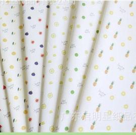 水果包装纸印刷防潮包装纸印刷logo儿童玩具包装纸