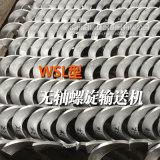 科信WLS无轴螺旋输送机 绞龙叶片 污泥输送机