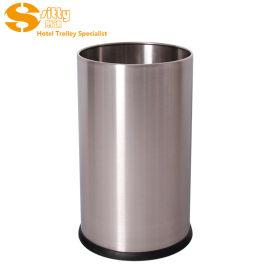 专业生产SITTY斯迪92. N200SA砂光无焊缝不鏽鋼圆形客房桶/垃圾桶