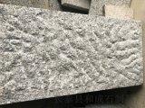 g654火烧芝麻灰台阶石菠萝面 湖北芝麻灰石材