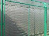 厂家供应框架护栏网@边框式防攀焊接片护栏