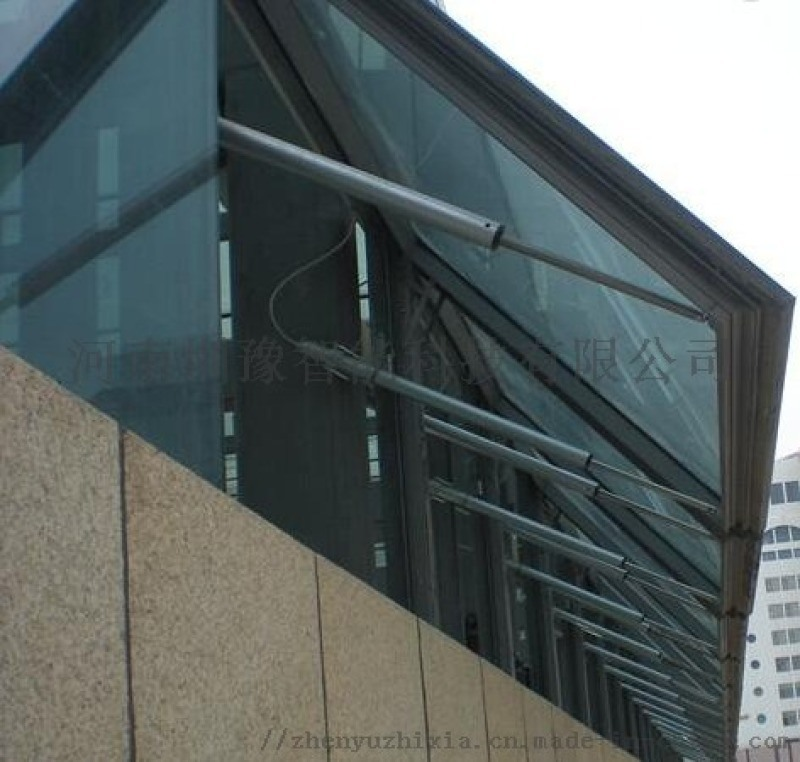 雲南隆陽區雙鏈條式電動開窗器排煙窗 廠家直銷