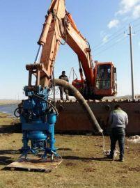 搅拌式挖机专用抽沙泵、清淤泥泵、砂砾泵厂家直销