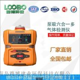 LB-MS6X泵吸.六合.一多氣體檢測儀