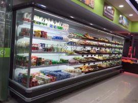 驻马店超市风幕柜定做价钱_饮品展示柜