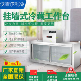 厨房挂墙保鲜柜,悬挂式不锈钢冷柜,吊墙冰柜厂家直销