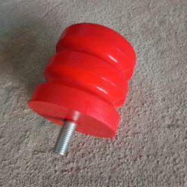 聚氨酯螺栓型缓冲器  行车缓冲碰头  橡胶缓冲器