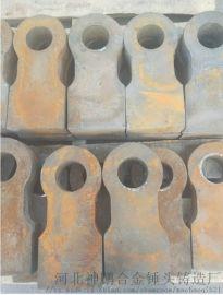 高锰钢耐磨锤头制砂机双金属耐磨锤头高铬铸造耐磨锤头