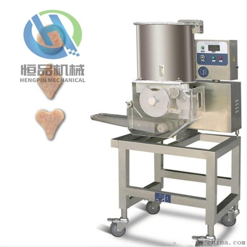 加工定制猪肉饼成型机-厂家直销全自动肉排成型设备